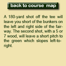 1st Hole Description